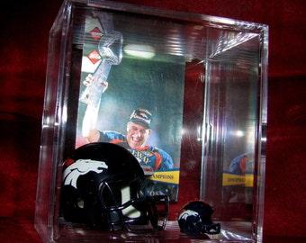 Denver Broncos Legend'John Elway'Helmet *Super Bowl*Display. see pics..ready to ship..