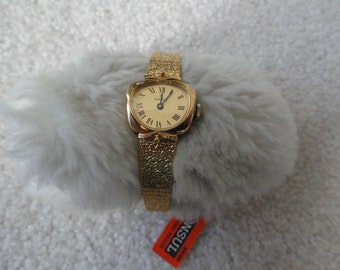 Swiss Made 17 Jewels Consul Wind Up Vintage Ladies Watch