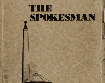 """1936 Strong Vincent High School Yearbook, """"The Spokesman"""""""