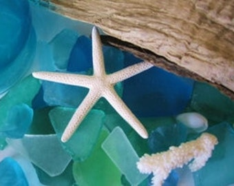 Seaglass, Aqua Seaglass, Beach Wedding, Seaglass in a Bag, Turquoise Seaglass, Tumbled Seaglass