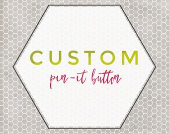 Custom Pin-It Hover Button -- for Blogger and Wordpress Blogs, Hover Pin-it, Pinterest Button, Custom Pin-it Button, Pinterest Icon, Add On