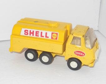 """Vintage TONKA Shell Oil Tanker Truck 5.5"""""""