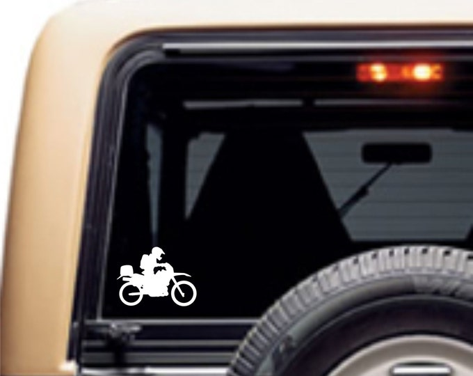 Adventure Rider outdoor vinyl decal, motorcycle decal, dual sport decal, dual sport sticker, klr decal, klr sticker, off road moto decal
