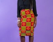 African Clothing, African pencil skirt, African Print Skirt, Wax print skirt, Ankara pencil Skirt, Ankara African Print Skirt African Skirt