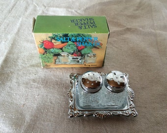 Miniature Salt and Pepper Shakers by Fairy Brand