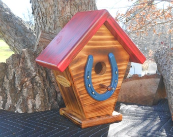 HorseShoe Single Family BirdHouse