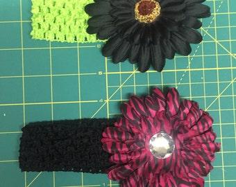 Gerber daisy headband