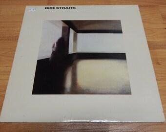 Dire Straits Self Titled Vinyl Record LP album mark knopfler