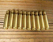 308 Caliber Shell Cases, New Shell Cases,(10)Shell Cases,Brass Shell Cases,Bullet Jewelry Supplies,Brass Casings,Matching Head Stamps
