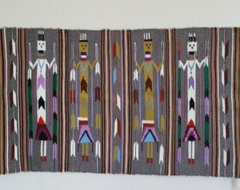 Authentic Hand Woven Original Navajo Wool Rug/Wallhanging