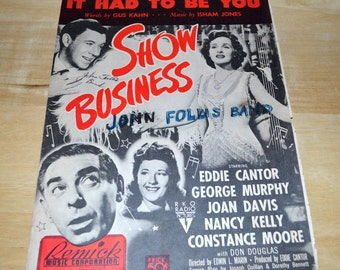 Vintage Sheet Music By Remick Music Corporation Of New York