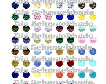 V-00002 - Template for Cabochons 14mm