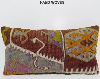 decorative pillow large lumbar pillow kilim pillow designer cushion handmade pillow sham large pillow sham throw pillow kilim pillow 32318