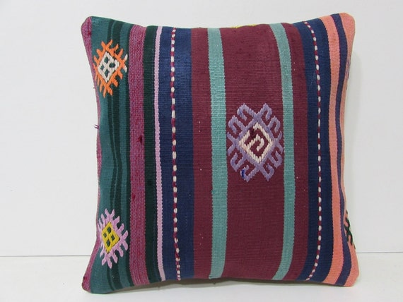 Decorating Living Room 18x18 Turkish Pillow By DECOLICKILIMPILLOWS