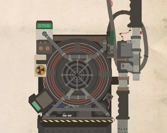 Ghostbusters new (8x10, 11x17, or 13x19) 2016 Proton Pack