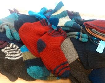 Naalbinding socks