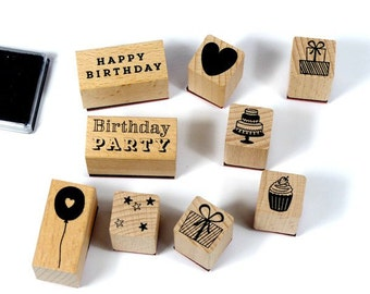 Stamp set birthday