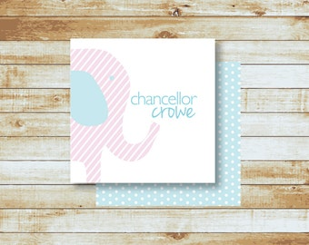 Personalized Calling Cards / Kids / Chancellor