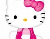"27""  Hello Kitty Shop Side Pose Foil Balloon Sale"