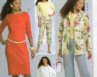 McCall's Palmer Pletsch Classic Fit Pattern 4842 JACKET DRESS PANTS Top Misses Sizes 18 20 22 24