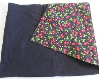 Vintage Blankets, Vintage Tablecloths, Lap Blankets, Throws, Tablecloths,  Cherry Decor,