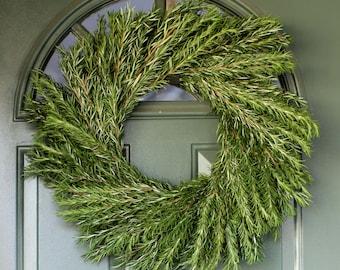 "Rosemary Wreath - 20"""