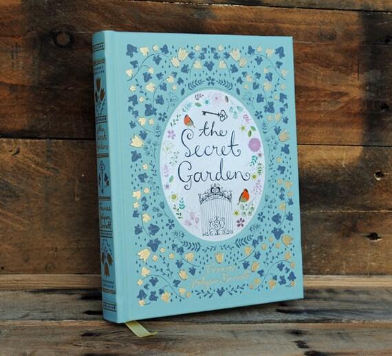 Book Safe - The Secret Garden - Leather Bound Hollow Book Safe