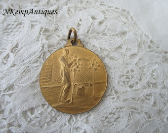 Old gardening medal