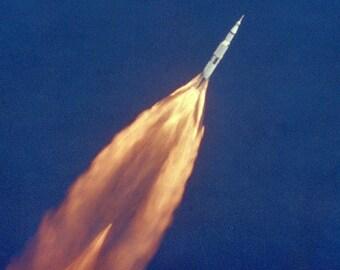 Apollo 11 Launch, NASA, Space  -Photo Print