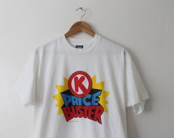 XLARGE Vintage 80s/90s Circle K Price Buster Soft and Thin Graphic T-Shirt
