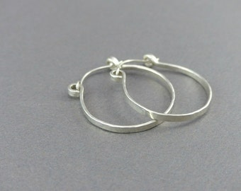 Sterling Silver Hoop Earrings for Women | Wire Earring Hoops | Handmade Earrings | Lightweight Earrings Hoops by Wire Expressions