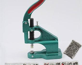 Rhinestone Rivet Stud Setter Kit - Includes over 1000 Rhinestone Rivets Handpress Machine Tool