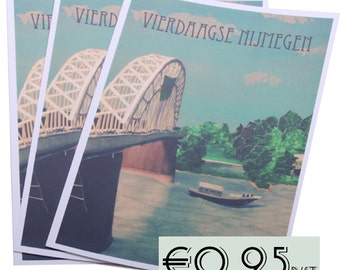 post card four-day Nijmegen