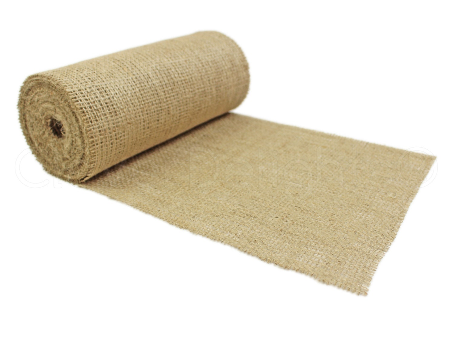 10 yards 9 burlap roll unfinished edges eco for 10 minute table runner 30 minute tote bag