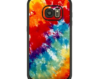 Skin for LifeProof Galaxy Case - Tie Dyed - Sticker Vinyl Decal - Fits S7, S6, S5, S4, S3, Fre, Nuud