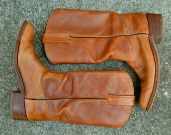 Men's Frye Cowboy Boots - Size 9.5 - Made in the USA