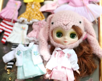 Jacket set // Doll clothes for Middie Blythe.
