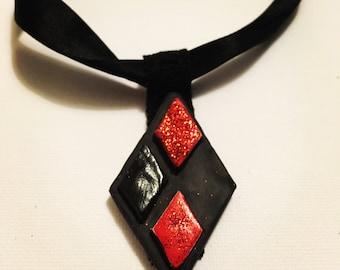 Harley Quinn Choker Necklace