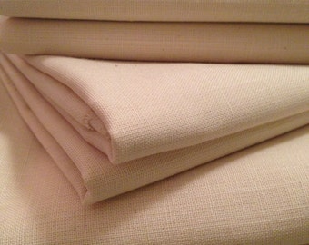 "Weavers Cloth 1 YARD: ""Springs Creative"" Weavers Cloth - Natural Color"