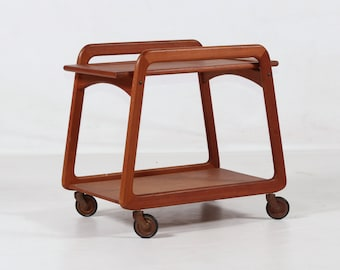 Teewagen Sika Mobler, Teak, Dänemark, vintage, 60er