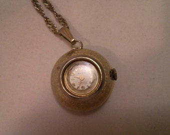 Vintage Collection - Automatic Watch Pendant Necklace