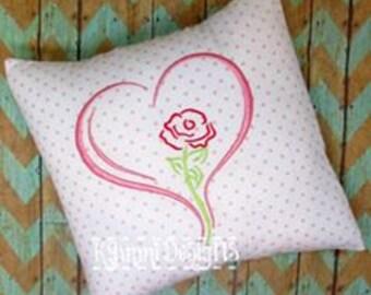 GG 2128 Rose Heart