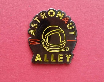 Astronaut Alley Enamel Pin: Limited Edition