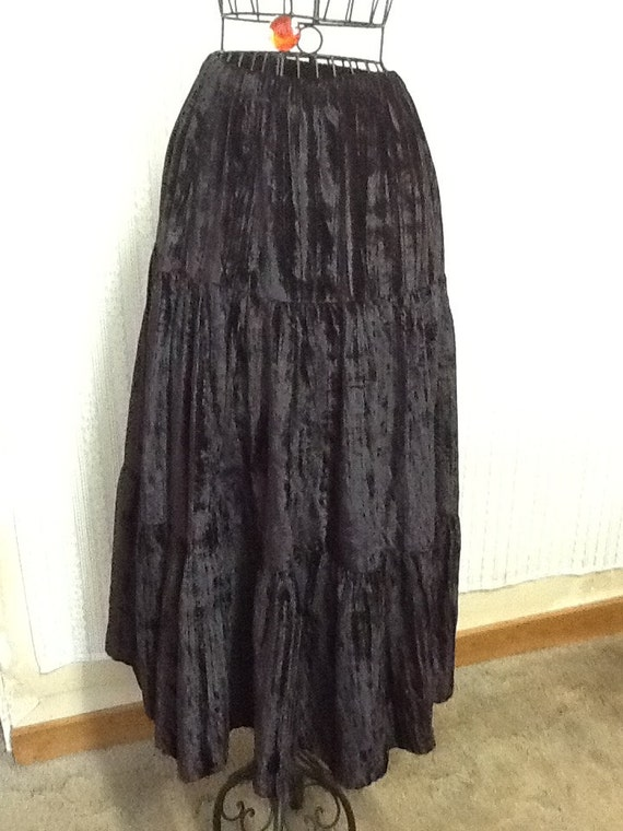 Black Broomstick Skirt 4