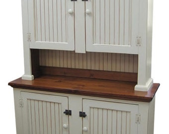 Farmhouse 4 door Hutch