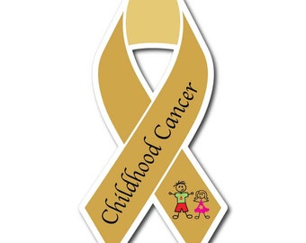 Childhood Cancer Sticker/Decal - Set of 3 -