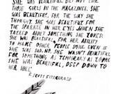 A6 F.Scott Fitzgerald Postcard