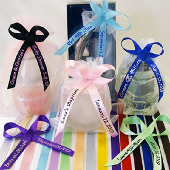 100 personalized baby shower ribbons for favors by tutucutsys