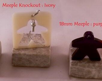 Meeple Knockout  / Mini-Meeple Combo
