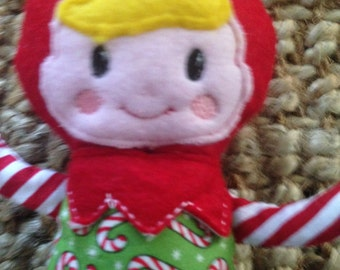 Christmas elf doll